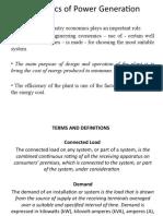 2 Economics of Power Generation