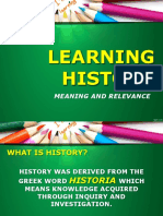 Meaning of History