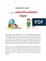 Top Ranked Play School in Jaipur