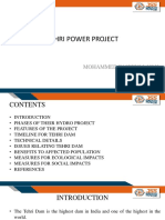 Tehri Power Project