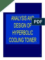 Design of Hyperbolic Cooling Tower
