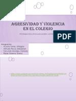 Agresividad y Violencia en El Colegio (2)