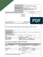 CV Format (1)
