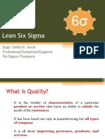 Module 1 - Introduction on Lean Six Sigma