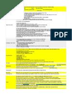 Junior Training Sheet - Template - V6.3