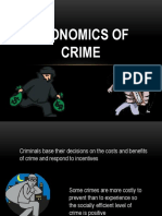 The Economics of Crime