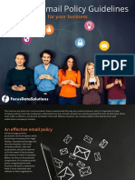 Effective Email Policy Guidelines