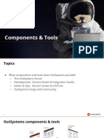 Outsystems components and tools