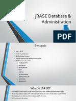 Jbase Database _ Administration.pptx