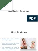 Como Evaluar El Nivel Léxico –Semántico