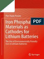 [Pier Paolo Prosini (Auth.)] Iron Phosphate Materi