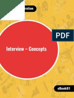 CAT interview concepts