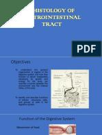 Histology Digestive System