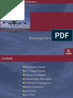 Errorneous ILS Captures