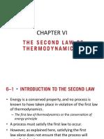 Bab Vi Second Law of Thermodynamics