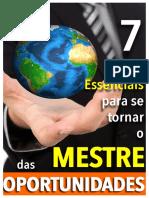 E-book 7 Passos Essenciais Para Se Tornar Um Mestre Das Oportunidades