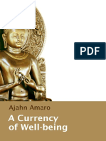 A Currency of Well-being - Ajahn Amaro