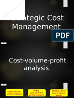 Strat Cost - CVP Analysis