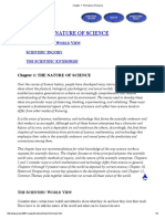 Chapter 1 the Nature of Science