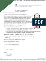 Crear Tareas Con CRON en Linux o UNIX