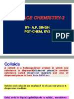 Surface Chemistry 2 Aps