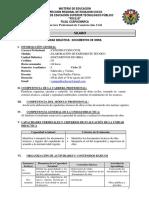 Silabo de Documentos de Obra III Semestre
