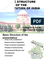 1.Basic Structure of the Constitution of India