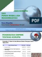 Pemberantasan Korupsi dan Peran Mubaligh Muhammadiyah.ppt