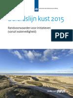 Beleidslijn Kust 2015