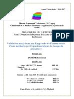 Validation Analytique Par l'AP - Saoussan ANNEMER_4162