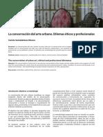 Dialnet-LaConservacionDelArteUrbanoDilemasEticosYProfesion-5764335