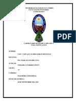 informe Destilacion-Organica
