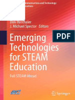 Emerging Technologoes for STEAM Education