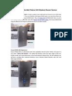 Huawei B618s-66d (Telstra 4GX Modem) Router Review
