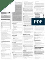 Saida Manual de Instrucoes Facility Connect Rev.02 2925240