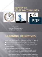 management of waiting lines