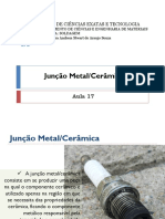 Junção metal e cerâmica