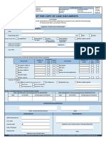 Request Form Office of the OMB