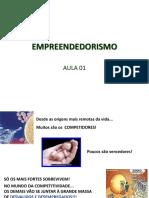 Empreendedorismo - Aula 01