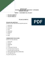 Mecanografía y Digitación.