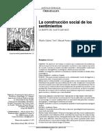 La construcción social de los sentimientos LA MUERTE DEL SUJETO QUE NACE.pdf