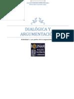 Actividad 1 Partes de La Argumentación