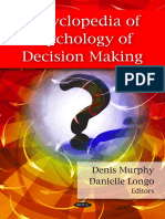 Encyclopedia of Psychology of Decision Making