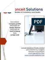 Conceit Solutions Private Limited