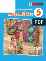 Matemática 5 Mi Cuaderno de Autoaprendizaje