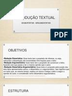Dicas Produção Textual