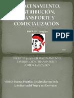 Almacenamiento, Distribución, Transporte y Comecialización