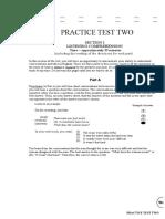TOEFL Test 2