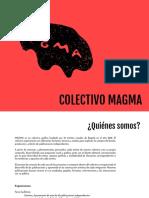 Portafolio Colectivo Magma y Volcán Ediciones