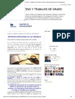Asesoria de Tesis y Trabajos de Grado_ Qué Es Operacionalización de Variables